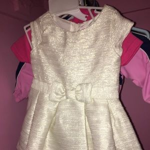 Other - Shimmery cream and gold dress